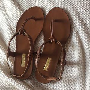 Brown Aldo sandals - NEVER WORN!!!